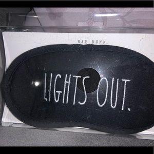 """Rae Dunn """"Lights Out"""" Sleep Mask"""